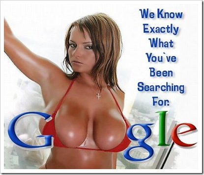 With Google boob logo what